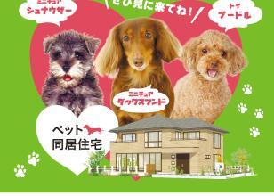 【新築実例見学会】愛犬と一緒に住むための家